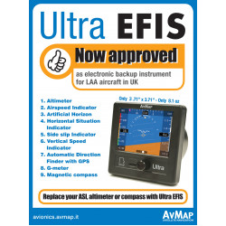 LAA Approve AvMap EFIS backup