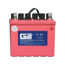 Aircraft Battery, 12V 18AH Dry. 2 QTS Electrolyte req.