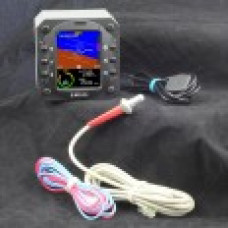 Kanardia 80mm EMSIS PFD + EMS (AHRS,IAS,VARIO,GPS,OAT) and Engine Monitoring Unit (DAQU) with Cables