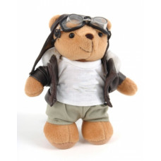 """Biggles"" Bear, large"