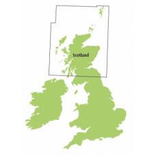 Scotland 1:500,000 chart Ed31