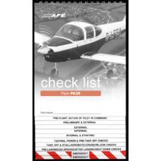 PA38 Checklist