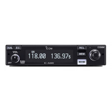 Icom IC-A220T-MBA with EDGE connector.
