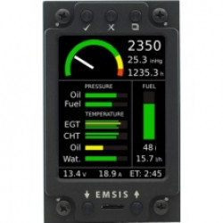 "Kanardia 3.5"" EMSIS Engine Monitoring System with DAQU and Cables"