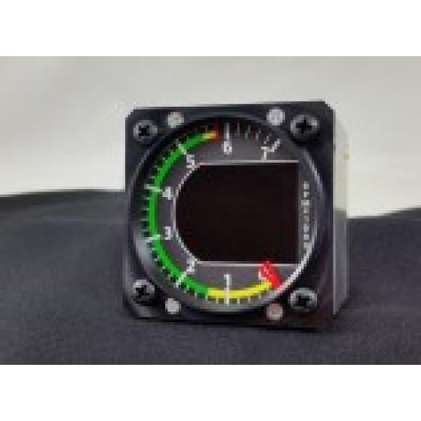Kanardia 57mm Standalone RPM Indicator and Tacho for Jabiru