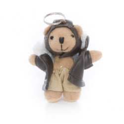 """Biggles"" Bear, key ring"