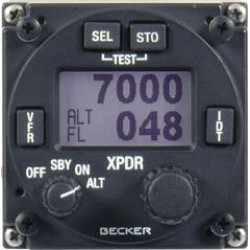Becker BXP6401-1-(01) 250W Mode S Transponder (Class 1– above 15,000ft)